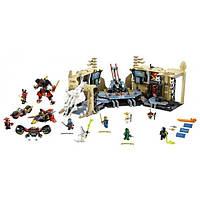 LEGO Самурай Х Битва в пещерах Ninjago Samurai X Cave Chaos 70596