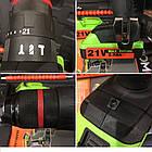 Шуруповерт акумуляторний Stromo SA 214 LI Extra (21, ударний з гнучким валом), фото 6