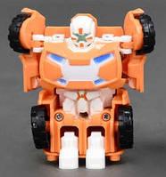 Робот Трансформер оранж