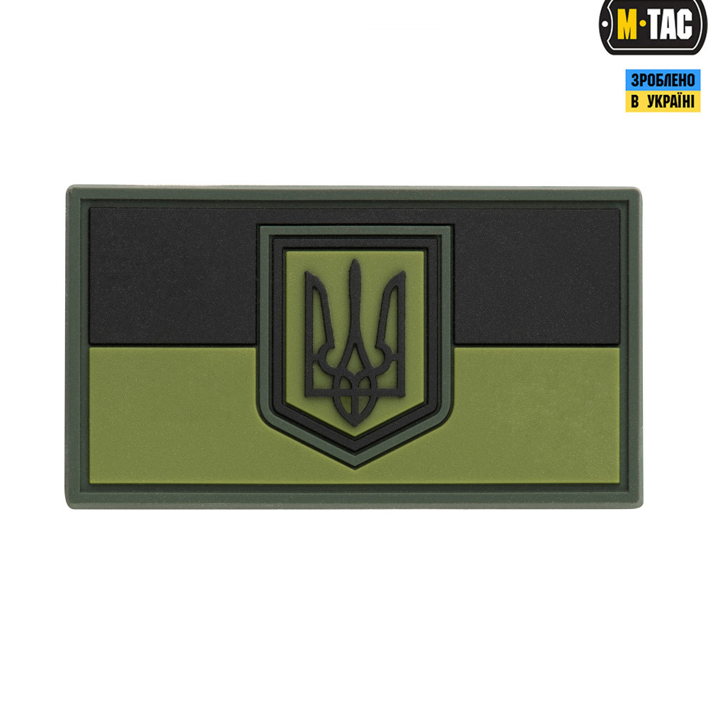 Нашивка М-Тас Прапор України Малий Olive