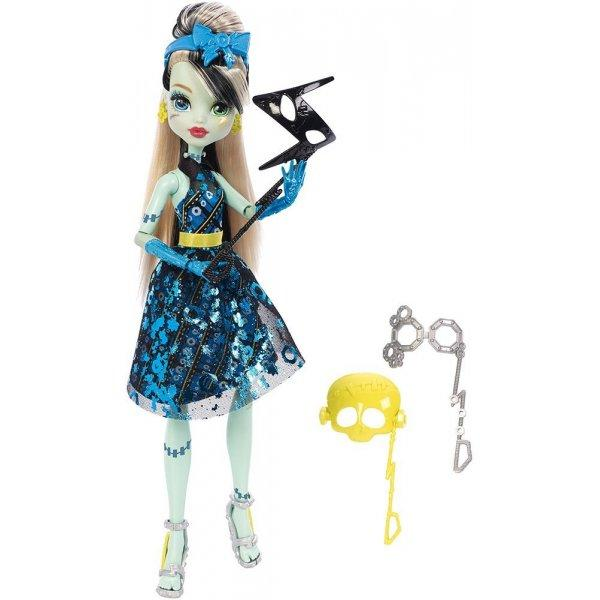 Monster High Фрэнки Штейн Фотокабина Dance The Fright Away Transforming Frankie Stein Doll