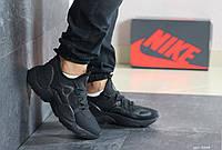 Мужские кроссовки Nike Air Huarache (черные)