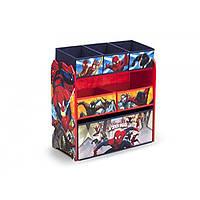 Органайзер для игрушек с ящиками Человек Паук Герои Марвела Delta Children Multi-Bin Toy Organizer Marvel Spider-Man