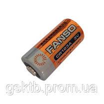 Литиевая батарея CR123A 2/3 A Size 3,0В 1500мАч, Li-MnO2, фото 2