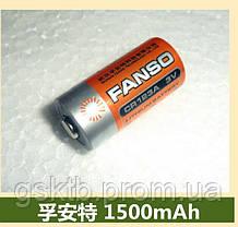 Литиевая батарея CR123A 2/3 A Size 3,0В 1500мАч, Li-MnO2, фото 3