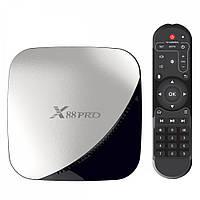 X88 PRO RK3318 2/16GB 4K Smart TV (смарт тв) Android приставка, фото 1