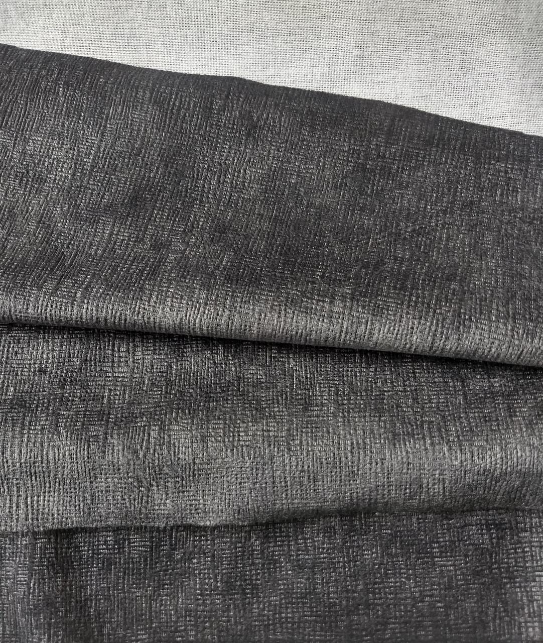 Обивочная ткань для мебели Бали 17 ДК грей BALI 17 DK GREY
