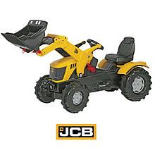 Трактор педальный с ковшом JCB Rolly Toys 611003