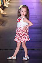 Нарядное платье для девочки Artigli Италия A06193 Белый