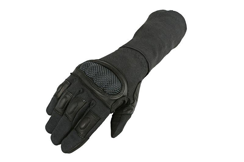 Тактичні рукавиці Armored Claw Breacher Black Size M