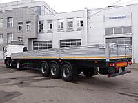 Бортовой полуприцеп МАЗ-975830-2010 г/п 28 тонн