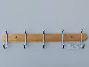 Вешалки настенные металлические, хромированные, деревянные