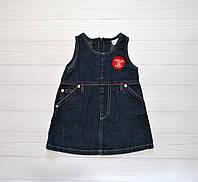Детский Сарафан джинсовый на девочку 68 см Prenatal