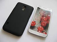 Чехол силиконовый LG Optimus L7 II Dual P715 черный
