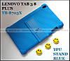 Синий силиконовый чехол бампер Lenovo Tab 3 8 plus tb-8703x