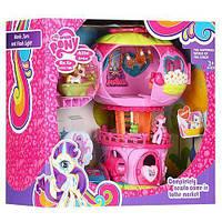 Игровой набор домик Пони 799 / Раскладной домик для пони с аксессуарами и 2 фигурками пони