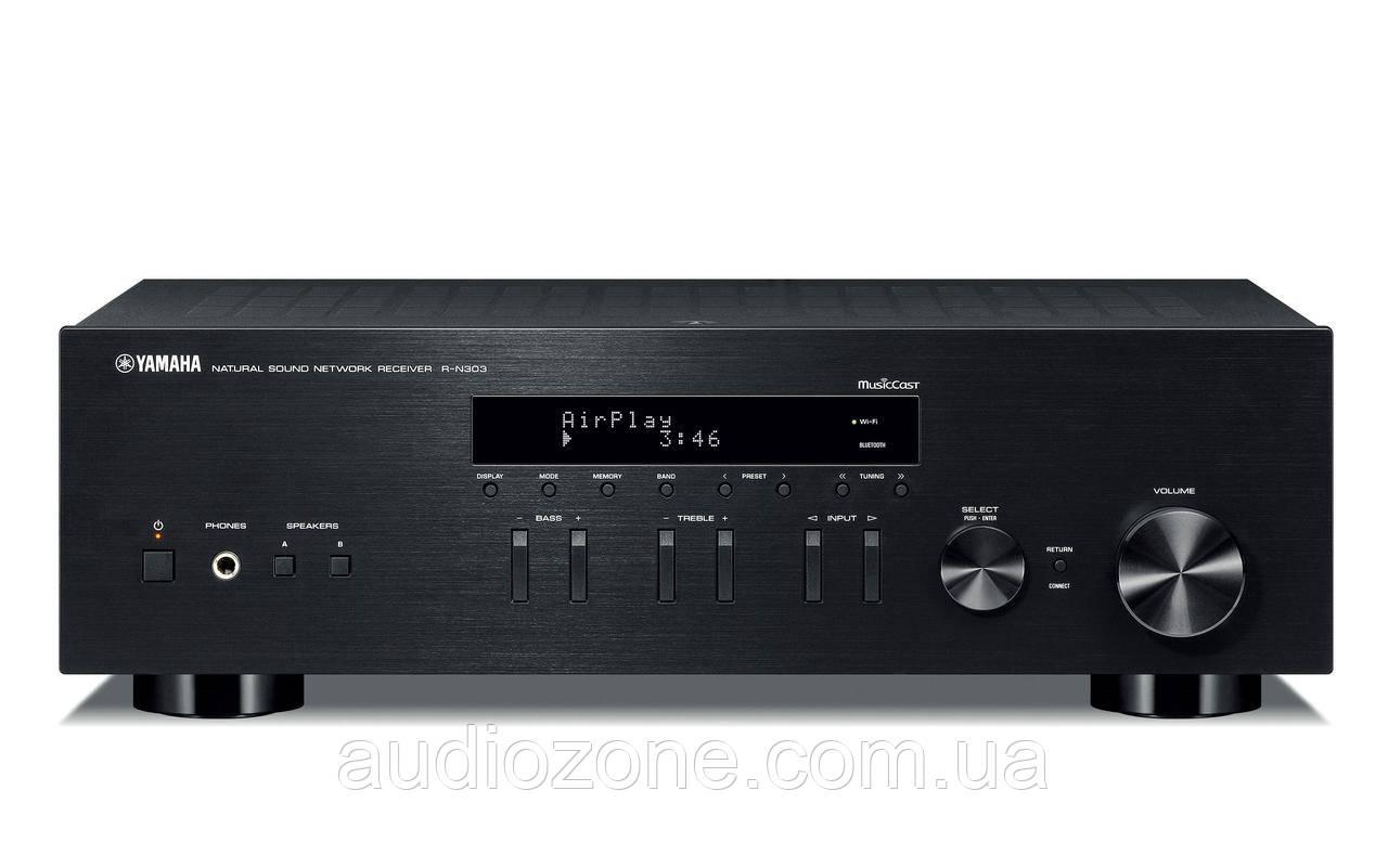 Стерео-ресивер Yamaha R-N303 Black
