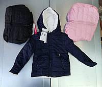 Двусторонние куртки на меху для девочек Taurus 8-16 лет