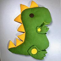 """Детская декоративная подушка """"Динозавр"""""""
