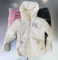 Двусторонние куртки на меху для девочек Taurus 4-12 лет, фото 1