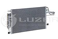 Радиатор кондиционера Tucson Sportage с ресивером Лузар LRAC 08E2
