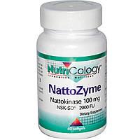 Наттокиназа Nutricology 100 мг 60 капсул
