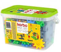 Набор для творческого конструирования Korbo Basic, 120 деталей (R.1404)