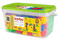 Набор для творческого конструирования Korbo Basic, 180 деталей (R.1405)