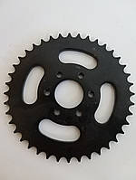 Звезда приводная задняя для квадроцикла  Hummer, Bashan, Shineray, Speed ATV 150/250 на 6 болтов шаг 428 40T