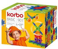 Набор для творческого конструирования Korbo Basic, 90 деталей (R.1400)
