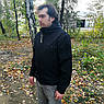 """🔥 Куртка Soft Shell """"ESDY. TAC-105"""" - Черная (непромокаемая куртка, тактическая, полицейская), фото 7"""