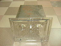 """Духовка для печи """"Евро""""  дверка нержавейка 230*290*400 мм (вес - 6 кг) S - 1.3 мм, фото 1"""