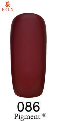 Гель-лак для ногтей F.O.X Pigment №086, 6мл
