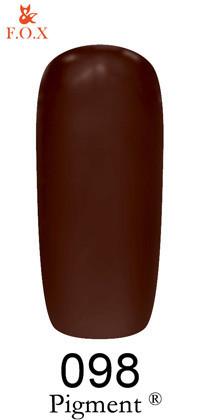 Гель-лак для ногтей F.O.X Pigment №098, 6мл