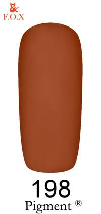 Гель-лак для ногтей F.O.X Pigment №198, 6мл