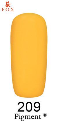 Гель-лак для ногтей F.O.X Pigment №209, 6мл