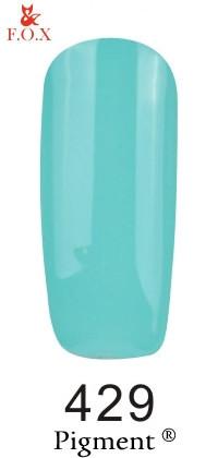 Гель-лак для ногтей F.O.X Pigment №429, 6мл
