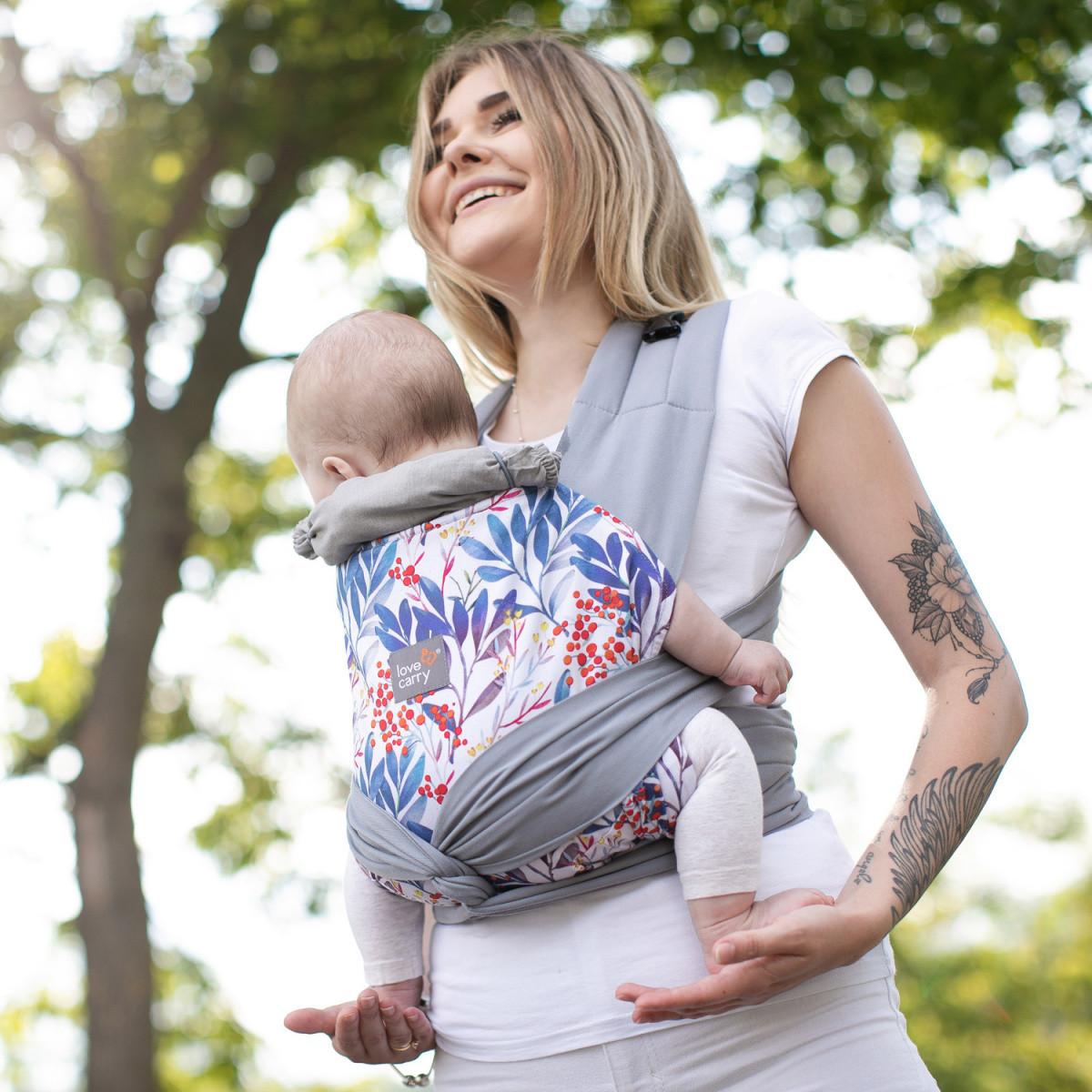"""""""Флора"""" Май слинг Лав & Carri для уютных прогулок, Май рюкзак просто и удобно для новорожденных Не кенгуру, фото 1"""
