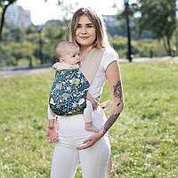 """Май слинг """"Дино"""" Лав & Carri для уютных прогулок, Май Sling рюкзак просто и удобно для новорожденных Н, фото 1"""