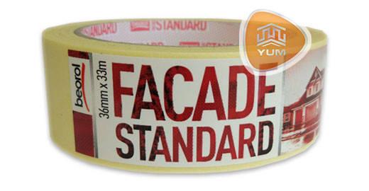 Малярная лента Facade Standart 36мм / 33м 80°C, фото 2