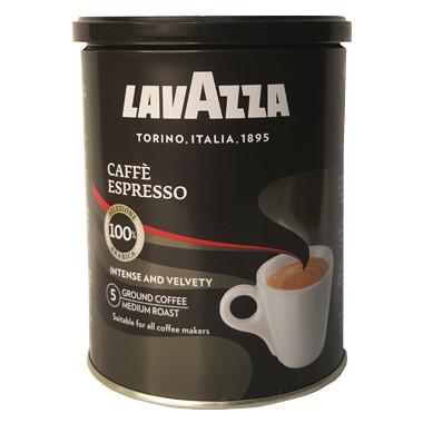 Кава мелена Lavazza Espresso в залізній банці, 250 грам, суміш з 100% Арабіки