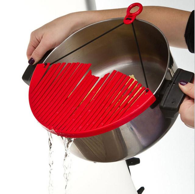 Универсальный дуршлаг | Накладка для слива воды BETTER STRAINER