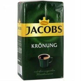 М'яка кава мелений 100% Арабіка Jacobs Kronung, 500г Німеччина