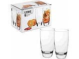 Набор высоких стаканов (6 шт.) 300 мл Lyric 41977, фото 2