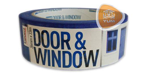 Малярная лента Door & Window 36мм / 33м 80°C, фото 2