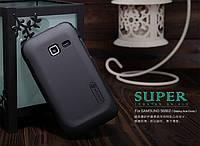 Чехол Nillkin для Samsung Galaxy Ace Duos S6802 чёрный (+пленка)