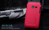 Чехол Nillkin для Samsung Galaxy Ace Duos S6802 красный (+пленка)