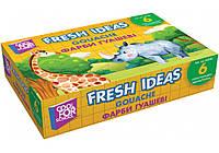 """Краска гуашевая """"Fresh Ideas"""", 6 цветов"""