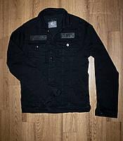 """Джинсовая куртка мужская черная """"Philipp Plein"""""""
