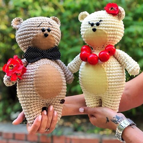 Онлайн майстер-клас з в'язання іграшки «Ведмедик» від Bobilon